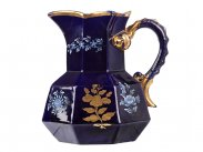 c1815 Mason's Ironstone Hydra Jug in Blue & Gold