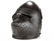 19th Century Fine Copy of Houndskull Bascinet Helmet