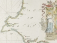 "Capt. Greenvile Collins Map ""Part of Devonshire"" 1693"