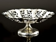 Sterling Silver Pedestal Bowl, Sheffield 1960