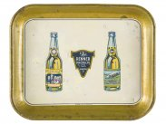 c1922 USA Prohibition Grossvater & Zepp Beers Tray