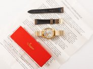 c1975 Swiss Mint Boxed Tressa Gold Plated Incabloc Watch