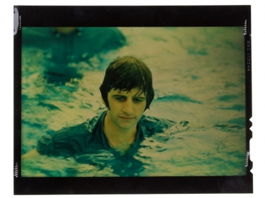 "Original 4×5 Kodachrome of Ringo Starr in the 1965 Movie ""Help"""