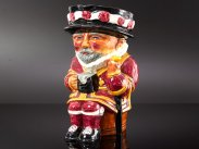 Beefeater Toby Jug Shorter & Son and Book