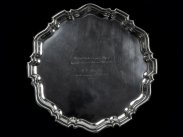 1935 Sterling Silver Salver to 1911 Chinese Red Cross Recipient
