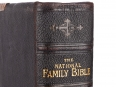 Large Victorian National Comprehensive Family Bible