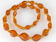 Fine Amber Necklace Bought in Soviet Beriozka Store