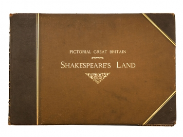 c1896 Pictorial Britain Shakespeare's Land Large Book