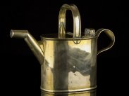 c1890 Victorian Brass Watering or Oiling Can