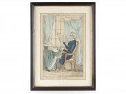 William Heath Satirical Print of Duke of Wellington