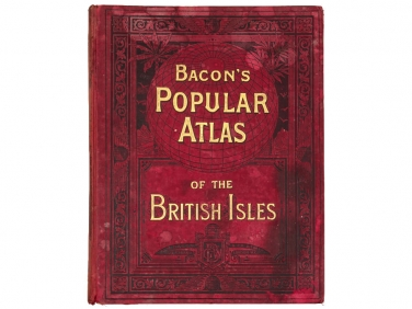 1899 Edition of Bacon's Popular Atlas of the British Isles