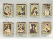 1900 Rare Flor de la Habana Tobacco Collection of Actress Cards