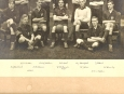Sidney College Cambridge Football Photo 1921