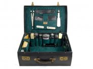 c1899 Victorian Travelling Luxury Toiletry Case J.W.Allen