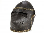 19th Century Victorian Copy of Medieval Bascinet Helmet