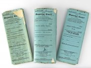 1927 Charlie & Lillita Chaplin Divorce Papers 1st National Bank