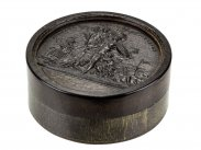 c1800 Tortoiseshell Snuff Box of Napoleons French Army