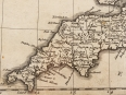 c1729 Magna Britannia Map of British isles by Homann