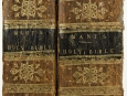 1817 Cornwall Nobility 1st Edition Bible by D'Oyly Mant