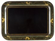 c1820 Georgian Large Rectangular Tole Tray