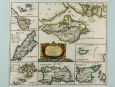 c1720 Smaller Islands in the British Ocean Print by Morden