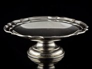 Sterling Silver Pedestal Fruit Bowl Sheffield 1924