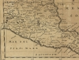 c1705 Engraved Map of Mexico by Nicolas Sanson d'Abbeville
