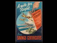 WWII British A Mite for Right Propaganda Poster