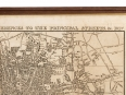 c1827 Teggs New Plan of London Engraved Print Map