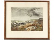 Richard Jones & Ackermann Set of 4 Lithograph Hunting Prints