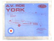 Contrail Model Aircraft AV.ROE York 1/72 Boxed