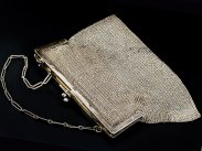 Sterling Silver Chain Mail Handbag 1913