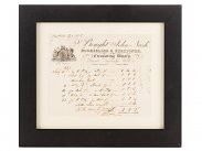 1832 Georgian Era Book Merchant Invoice to E P Bastard MP