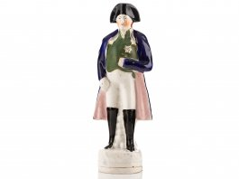 c1850 Staffordshire Pottery Figure of Napoleon