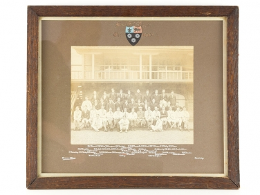 WWI Kings College Cambridge Rowing Club Photograph