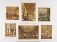1848 After Joseph Nash Chromolithographs of Windsor Castle