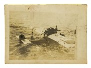 1929 Photo of Ramon Franco's Dornier J Seaplane from HMS Eagle