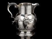 1761 George III Sterling Silver Ale Jug by W & R Peaston