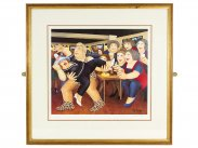 Beryl Cook 'Tarzanogram' Limited Edition Signed Lithograph Print