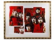 c1999 Rolling Stones Numbered & Signed Screenprint by Mankowitz