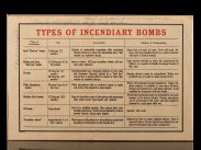 WWII British Air Raid Precaution Incendiaries Technical Notice