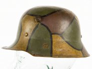 Robby Wilson WWI M16 German Camouflage Childs Helmet