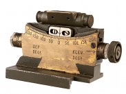 WWII British Cased Mk II Vickers Machine Gun Clinometer