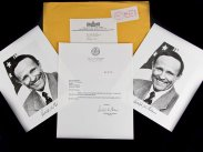 1994 Rudolph Giuliani Two Signed Photos and Letter