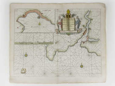 "Capt. Greenvile Collins Map ""Fowey and Mounts Bay"""