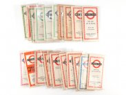 1939-1970 Collection 20 London Bus & Tube Route Maps