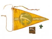 1933 Budapest International Jamboree Scouting Memorabilia