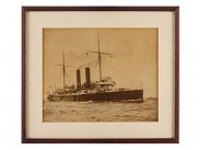 c1897 Original Large Photo of HMS St George Cruiser