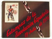 Spanish Civil War Republican Front Prints Book