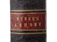 1842 First Edition Burke's Armory Published by Churton
